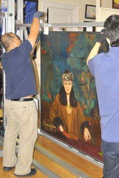 Portrait of Helena Roerich (1937), by Svetoslav Roerich
