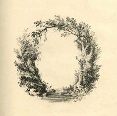 A Mid-19th C Landscape Alphabet