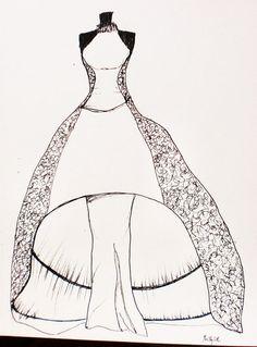 SAMPLES for  Custom Wedding Dress by butterfliesnladies on Etsy, $30.00