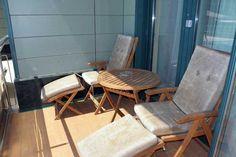 Die Liegen am Balkon im Hotel Livada Prestige, Moravske Toplice, #Slowenien