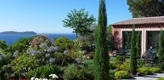 Carqueiranne Cycas Seaviews Garden Terrace Villa Rental 3 bedrooms
