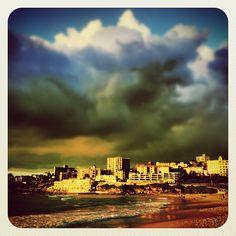 Bondi Warmth & Weather #weather #atbondi #bondi #clouds #colour #sydney #australia #summer #sun #beach #storm