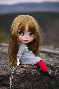 Blythe Doll Custom by chaoskatenkosmos na Etsy