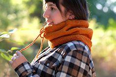 The Whitestone Ridge cowl offers versatile comfort for