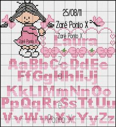 1 million+ Stunning Free Images to Use Anywhere Cross Stitch Letter Patterns, Monogram Cross Stitch, Cross Stitch Alphabet, Cross Stitch Baby, Cross Stitch Charts, Cross Stitch Designs, Cross Stitching, Cross Stitch Embroidery, Embroidery Alphabet