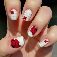 Much love & respect to the brave men and women who keep this beautiful country free,  and to their loved ones who sacrifice so much in support.  #lestweforget #RemembranceDay #remembrancedaynails #remembrancedaymani #poppy #poppynails #poppymani #VeteransDay  #nailart #nailstagram #nailpromote #nailartpromote #featuremynails #notd #nailsoftheday #dailynails #nails2inspire #nailfeature #advancedstamping
