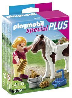 Playmobil - 5291 - Figurine - Enfant Avec Poney