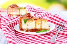 Tarta de queso, la receta definitiva ¡con y sin horno!   PequeRecetas A Food, Food And Drink, Flan, Camembert Cheese, Cheesecake, Gluten Free, Cookies, Sweet, Desserts