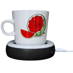 9. Desktop USB frenzied Tea/Coffee Mug Warmer, Wax-and-Candle Warmer