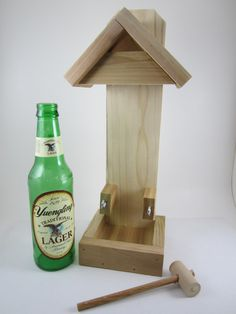 1000 images about bird feeders on pinterest beer Wine cork birdhouse instructions