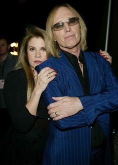 Stevie   ~ ღ☆❤☆ღ ~   her long-term friend and stage buddy, Tom Petty, at the 2003 Radio Music Awards on October 27th, 2003 in Las Vegas, NV.
