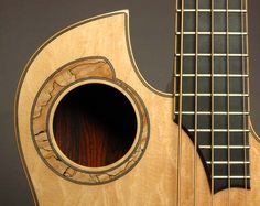 Mike Doolin soundhole Music Guitar, Cool Guitar, All Music Instruments, Guitar Inlay, Custom Guitars, Guitar Strings, Mandolin, Cool Stuff, Acoustic Guitars
