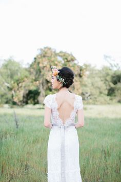 """Fields of Love"" Summer Wedding Inspiration by Rose and Delilah"