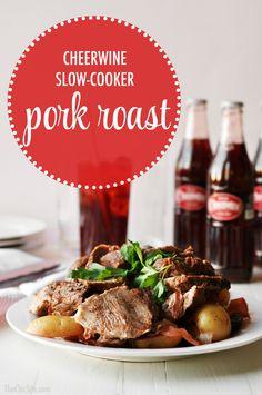 cheerwine pork roast