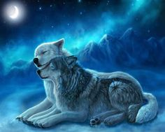 DIY Diamond Painting Diamond Cross Stitch wolf and night Mosaic rhinestones Embroidery wall picture Home Decor love gift Wolf Photos, Wolf Pictures, Wolf Love, Beautiful Wolves, Animals Beautiful, Fantasy Wolf, Fantasy Art, Wolf Mates, Tier Wolf