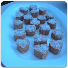 Mini cuori di cheesecake