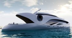 Yacht - The Oculus Yacht by E. Kevin Schopfer