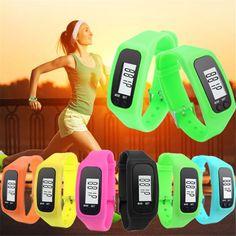 Perfect Gift Women's sport watch LCD Pedometer Run Step Walking Distance Calorie Counter Watch Levert Dropship Jan18-17 #men, #hats, #watches, #belts, #fashion, #style