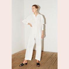 White Linen Ren Jumpsuit