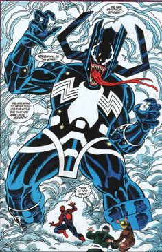 That time Venom possessed Galactus...