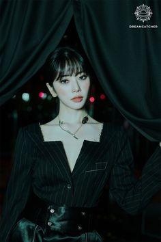 South Korean Girls, Korean Girl Groups, Jiu Dreamcatcher, Kim Min Ji, Pops Concert, Dream Catcher, K Pop, Teaser, Pop Group