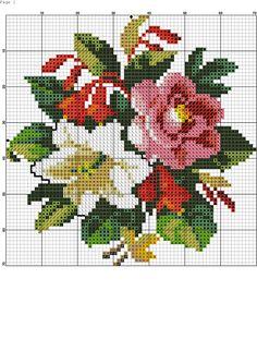 Victorian needlework chart