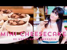 Mini Cheesecake de Manteiga de Amendoim #ICKFD - YouTube