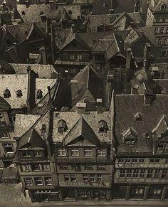 Old Frankfurt before its destruction in World War II, 1937  Wolfgang Sievers