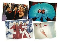 white christmas movie costumes   The Past on a Plate: Dinner and a Movie: White Christmas, Visions of ...