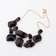 SHARE & Get it FREE | Irregular Geometric Faux Gems Design NecklaceFor Fashion Lovers only:80,000+ Items·FREE SHIPPING Join Dresslily: Get YOUR $50 NOW!