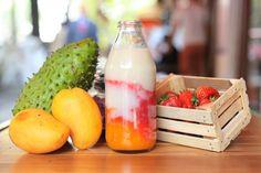 En Ojo de Agua preparan deliciosos jugos con frutas internacionales. Polanco #DF