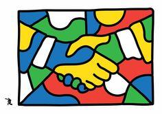 handshake, 2014 / www.polsolsona.com