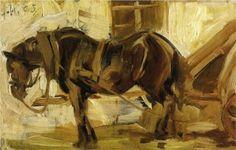 Small Horse Study - Franz Marc, 1905
