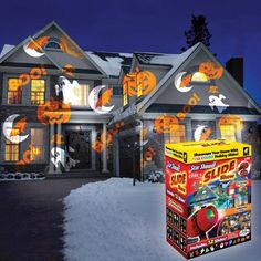 One of my favorite discoveries at ChristmasTreeShops.com: As Seen on TV Star Shower® Slide Show™ Motion Laser Light