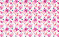 Indy Bloom Design Punchy Florals A fabric by indybloomdesign on Spoonflower - custom fabric