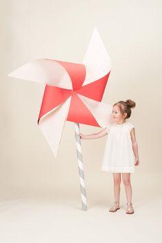 Make a  giant pinwheel