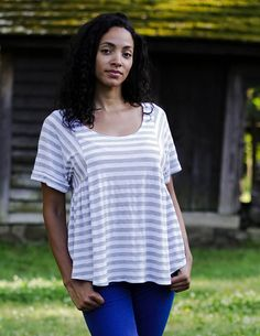 Invigorate your casual wardrobe with the breezy Paloma. The Paloma is as comfortable as your most-loved t-shirt, but adds a shapely, elegant
