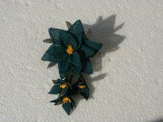 spilla seta - silk flower pin