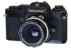 Nikon Collection-Nikkormat EL Circa 1972