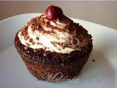 Lahodné Schwarzwaldské muffins