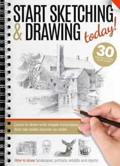 Art drawingfinal by Future PLC - issuu Drawing Skills, Drawing Lessons, Drawing Techniques, Drawing Sketches, Learn To Sketch, Learn To Draw, Technique Photo, Sketching Tips, Drawing For Beginners