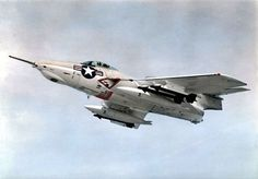 The Cougar was an aircraft carrier-based fighter aircraft for the United States Navy. Us Military Aircraft, Navy Aircraft, Military Jets, Military Weapons, Air Fighter, Fighter Jets, Grumman Aircraft, Fighter Aircraft, Jet Plane