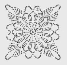 Little Treasures: Crochet Motif Wall Ornament