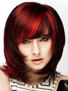 női frizurák félhosszú hajból - középhosszú női frizura