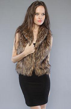 Quiksilver / QSW The Winter Faux Fur Vest