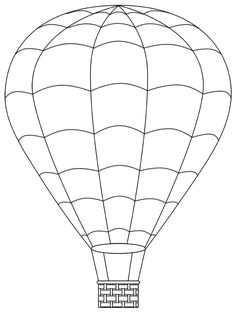 hot air balloon template | Hot Air Balloons as requested – First Posted: Thursday, April 08 ...