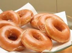 This is a simple and easy recipe for raised doughnuts.  You will love making these delicious doughnuts using yeast and freshly boiled potatoes.( mashed without butter,seasoning or milk-just the smashed potatoes). Great glazed  or with cinnamon sugar.Aunt Martha made these  many times, now I have this recipe from the 40's.