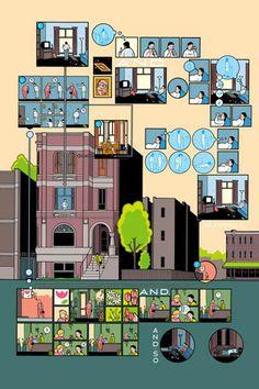 Building stories - Chris Ware - Griffioen Grafiek