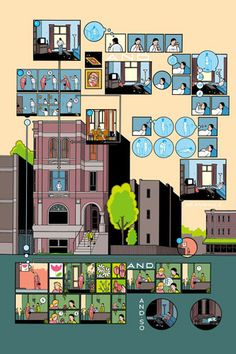 Building stories - Chris Ware - Griffioen Grafiek