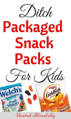 Why do we need to ditch processed and packaged snacks for our kids? The simple answer is to help their bodies learn the correct way to gain energy from food.  #healthyhabits #kids #kidsnutrition #sancksforkids